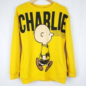 Peanuts Charlie Brown Sweatshirt With Pockets